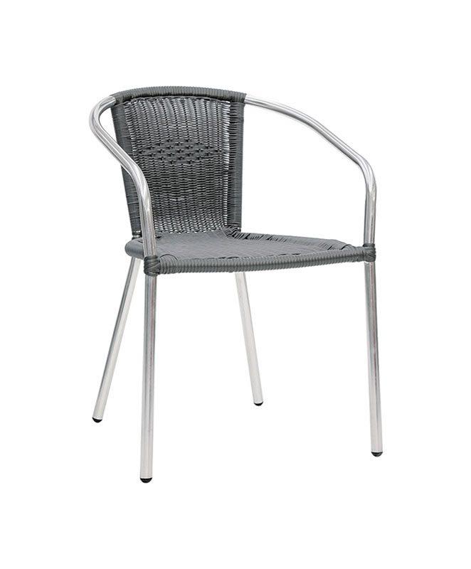 M0050 fauteuil le mobilier du pro - Chaise aluminium exterieur ...