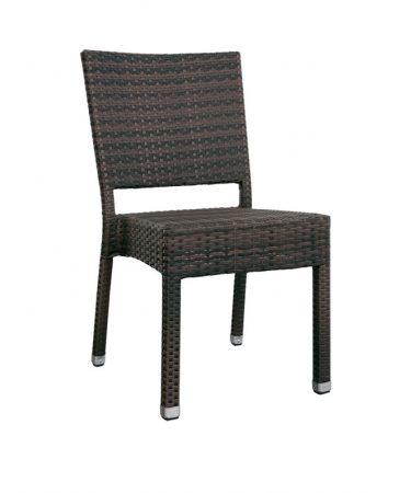 chaises d ext rieur en r sine tress e le mobilier du pro. Black Bedroom Furniture Sets. Home Design Ideas