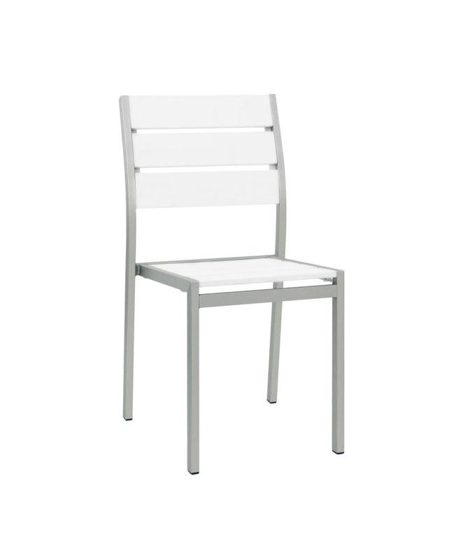 Chaises d ext rieur structure m tal le mobilier du pro for Chaise aluminium exterieur