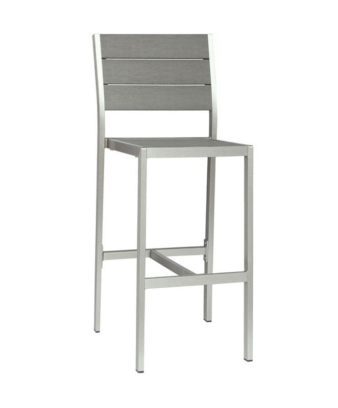 M0529 Chaise haute en aluminium