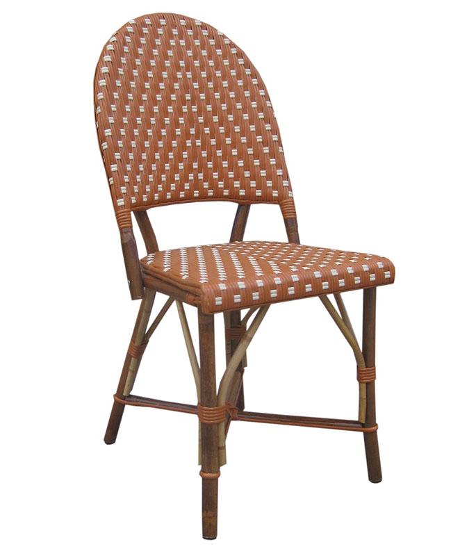 M0553 chaise le mobilier du pro for Mobilier rotin exterieur