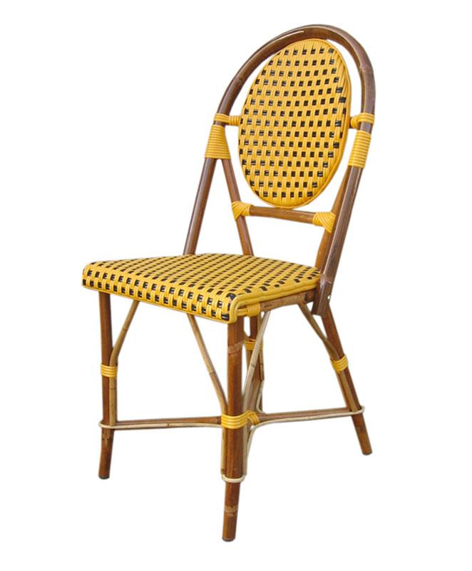 M0548 chaise le mobilier du pro for Mobilier rotin exterieur