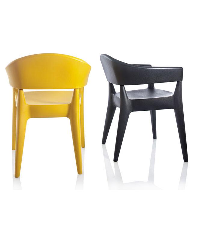 M0697 fauteuil le mobilier du pro for Chaise plastique exterieur
