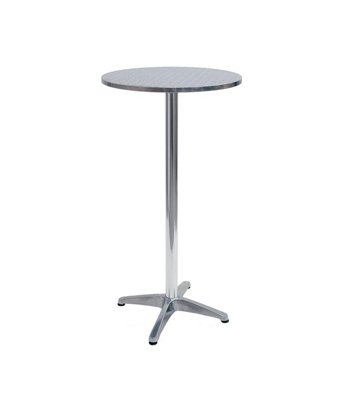 M0048 mange debout en aluminium le mobilier du pro for Table exterieur en aluminium