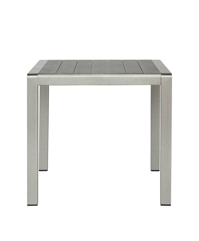 M0531 table en aluminium le mobilier du pro for Table exterieur en aluminium