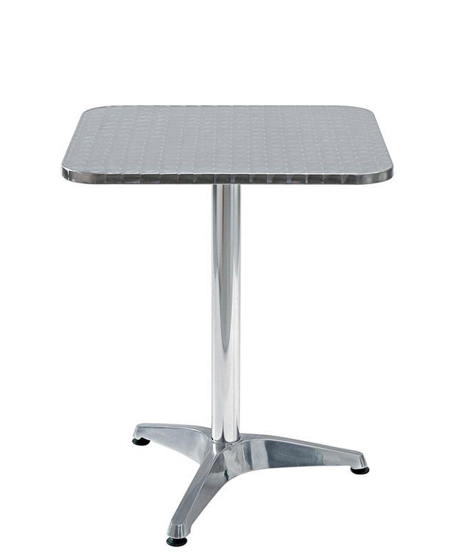 M0082 table 60x60 le mobilier du pro for Table exterieur 60x60