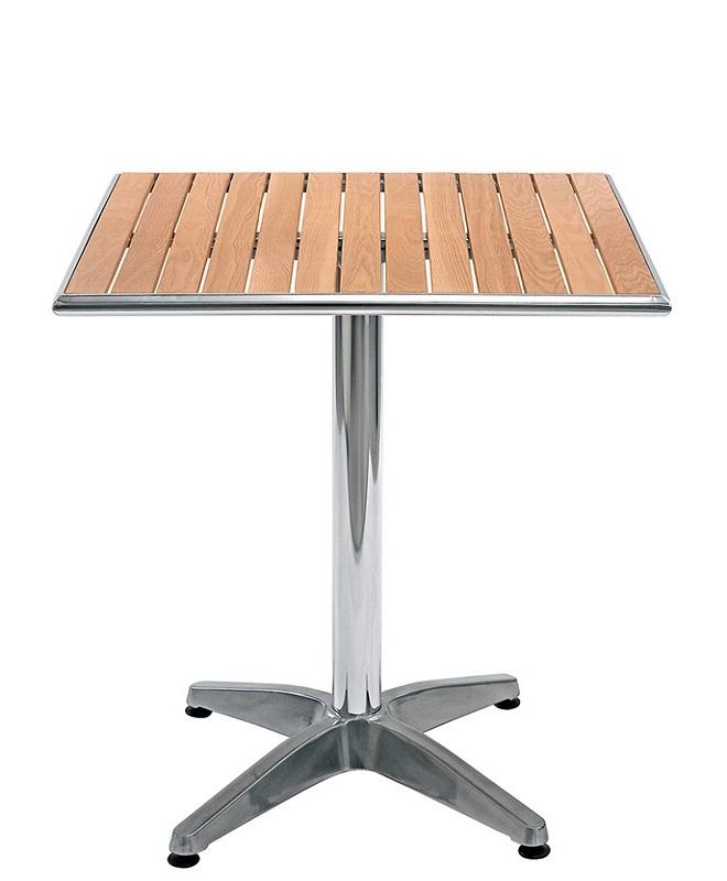 M0870 table 60x60 le mobilier du pro for Table exterieur 60x60