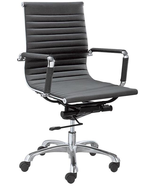 M0950 fauteuil de bureau petit dossier le mobilier du pro for Petit fauteuil de bureau