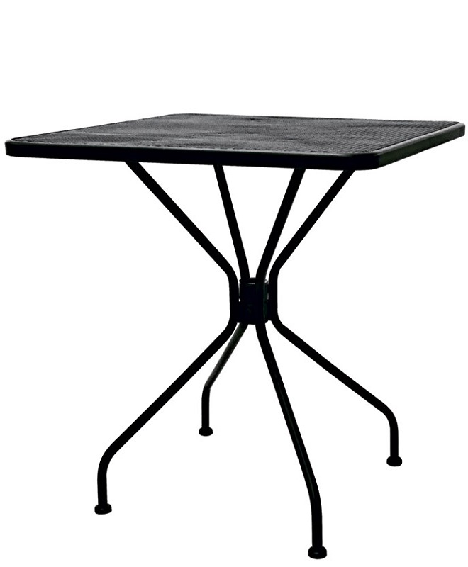 M0867 table 70x70 le mobilier du pro for Table exterieur 70x70