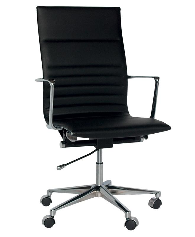 m0124 fauteuil de bureau grand dossier le mobilier du pro. Black Bedroom Furniture Sets. Home Design Ideas