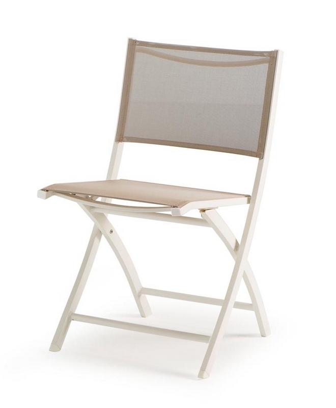 m0803 chaise pliante en aluminium le mobilier du pro. Black Bedroom Furniture Sets. Home Design Ideas