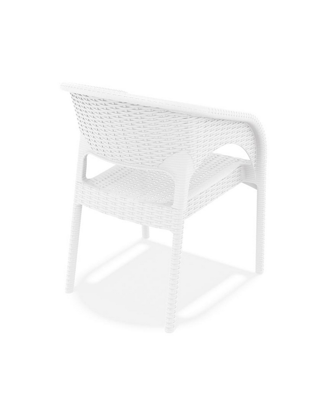 M1081 fauteuil tress le mobilier du pro for Mobilier tresse exterieur