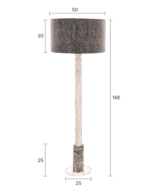 m1301 lampe rotin marbre le mobilier du pro. Black Bedroom Furniture Sets. Home Design Ideas